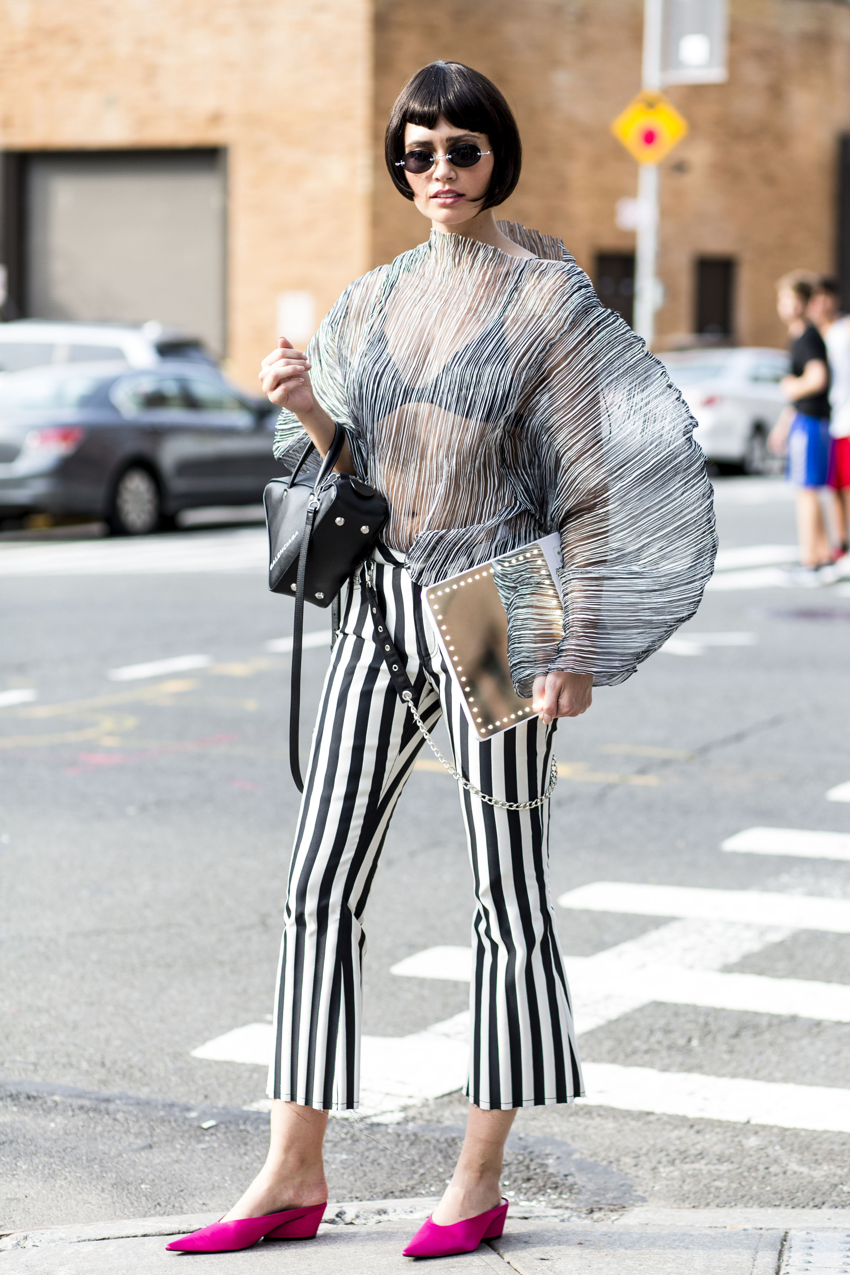 New York Fashion Week Street Style - September 12 2017 - Spring Summer 2018 - MintModa | Trend ...
